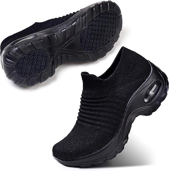 STQ Women's Slip On Walking Shoes