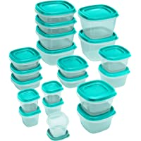 40-Piece Rubbermaid Easy Find Lids Assorted Storage Container Set