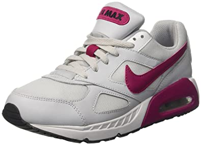 pretty nice 3ca31 1d5f9 Nike Air Max Ivo GS, Chaussures de Tennis Fille, Blanc Cassé (Pure Platinum