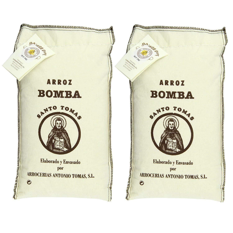 Santo Tomas Bomba Rice, 2.2 Pound (Pack of 2)