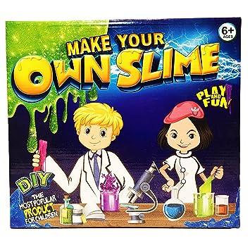 Amazon funtok diy slime kit suppliesmagic slime science funtok diy slime kit suppliesmagic slime science package for kids slime kit set make ccuart Image collections
