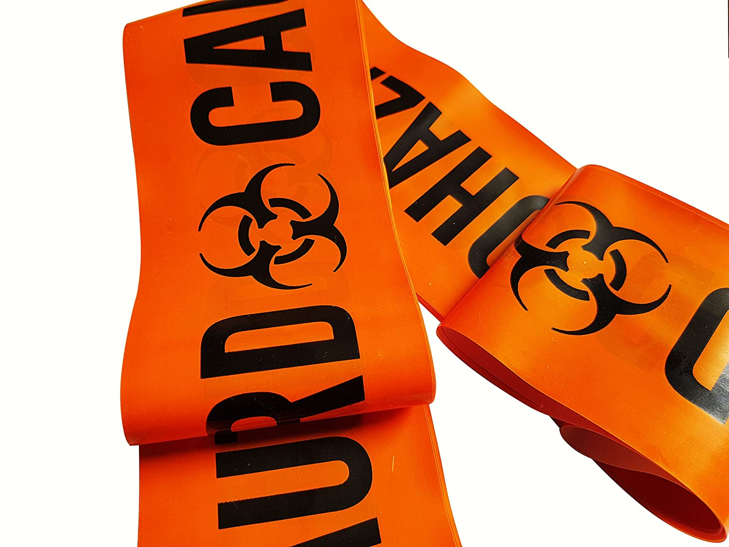 10m Length Caution Biohazard Novelty Barrier Tape