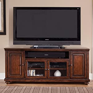 Liberty Furniture INDUSTRIES Martinique TV Console, Brown