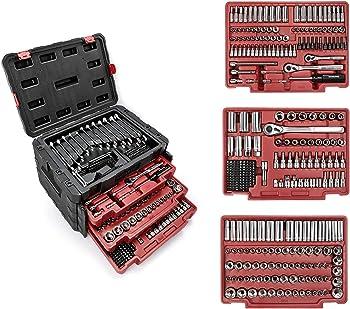 WORKPRO W003056A 450-piece mechanics tool set