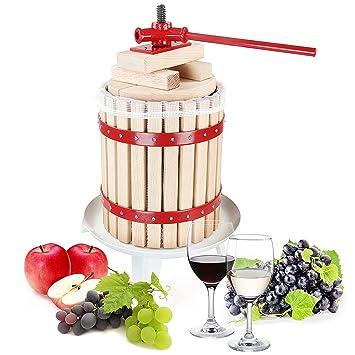 Jago - Prensa para hacer zumo de frutas - vino, manzana, exprimidor - volumen