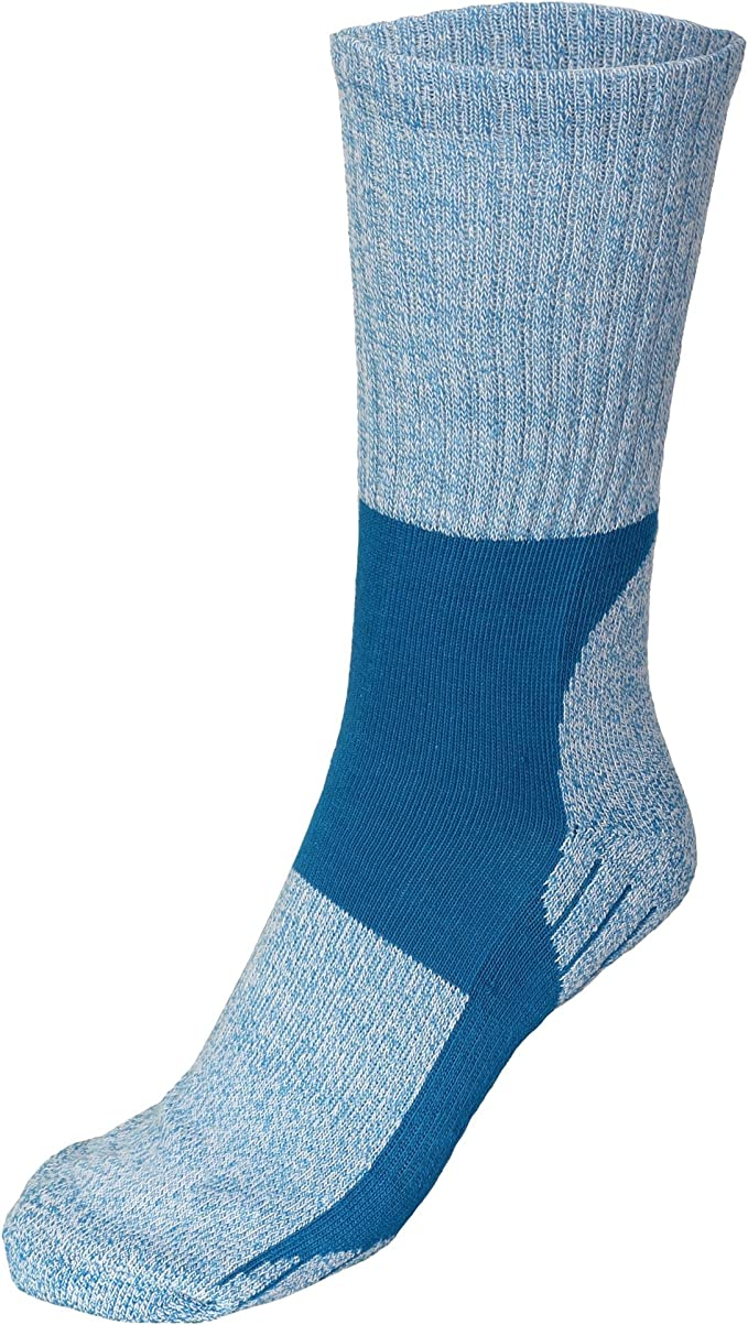 Ladies Trekking Socks with cushioned heel /& sole Size 4-7.Walking,climbing