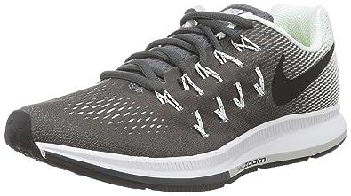 Nike WMNS Air Zoom Pegasus 33, Chaussures de Gymnastique Femme, Gris
