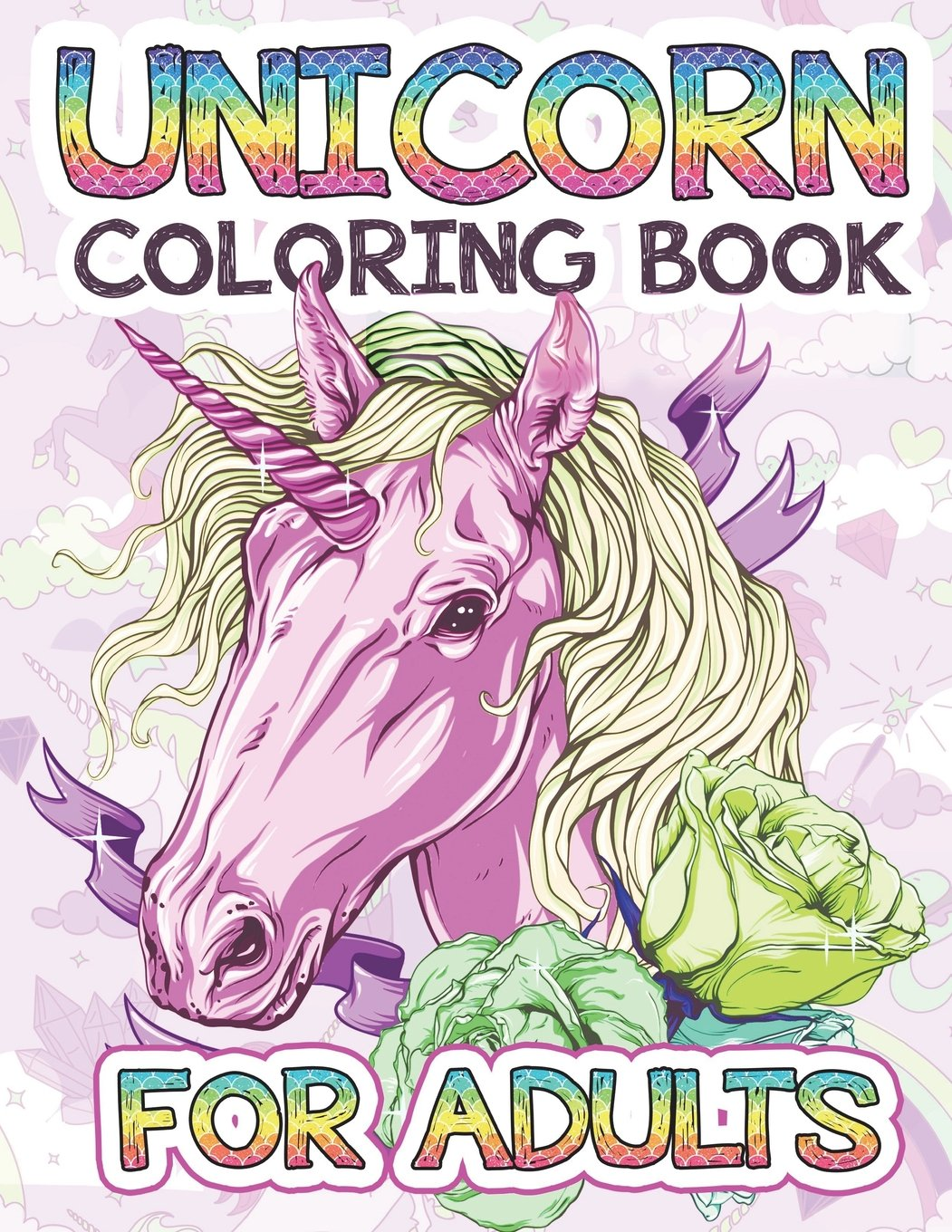 Unicorn Coloring Books for Adults: An Adult Coloring Book with Beautiful Unicorn Designs: Fun, Relaxing, and Stress Relief Unicorn Coloring Pages Gift For Her, Girls, Ladies, Women Who Love Unicorns pdf epub