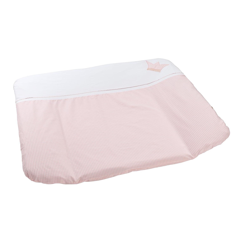 Bezug für Wickelunterlage rosa Vichykaro 60105QWUHQR