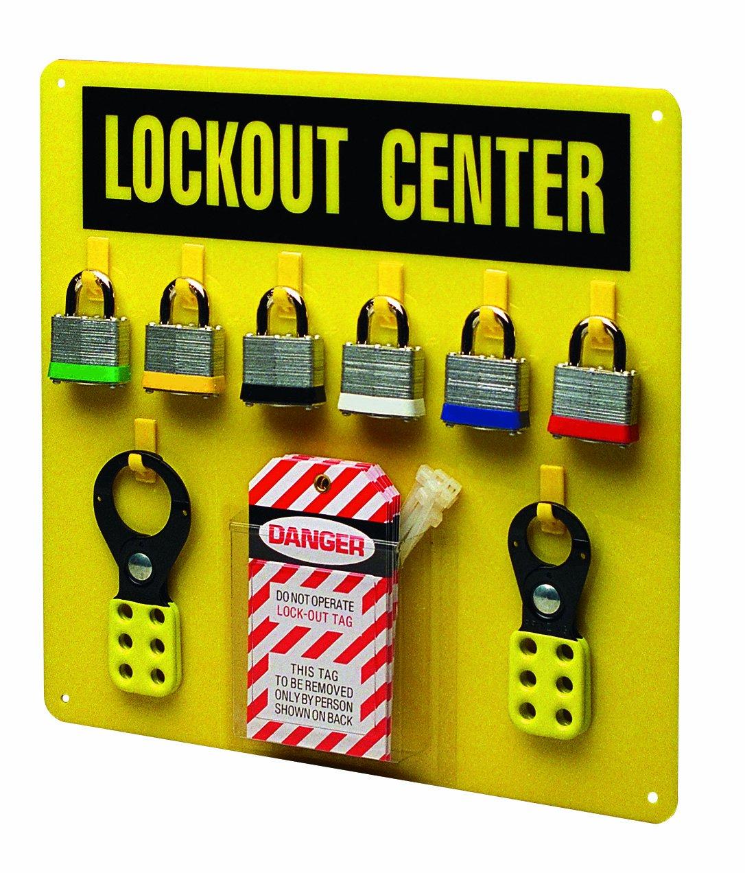 Brady 3003Y Prinzing EcoNomy Lockout Center (1 Each)