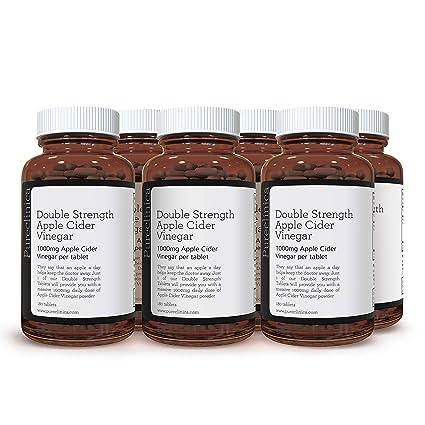 Vinagre de Sidra de Manzana de Doble Potencia x 1080 Comprimidos