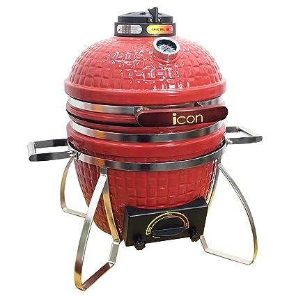 Amazon.com: Icono Grills CG101 Table parte superior Carbón ...