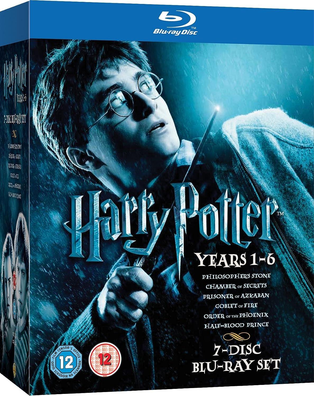 Harry Potter 1-6 Incl.German Reino Unido Blu-ray: Amazon.es: Movie, Film: Cine y Series TV