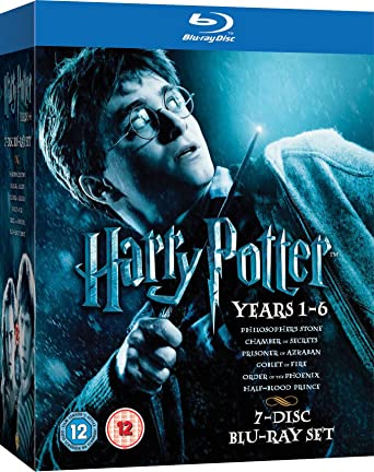Amazon Com Harry Potter 1 6 Movies Tv