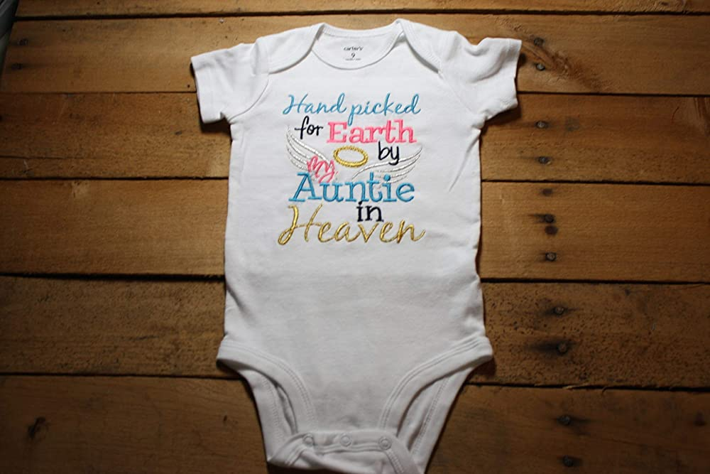 Handpicked for Earth Grandad Embroidered Baby Vest Gift Heaven