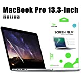 LENTION Clear Screen Protector for 13-inch MacBook Pro with Retina Display (Late 2012 to Early 2015, Model A1425/A1502), Anti-scratch Hydrophobic Oleophobic Crystal HD Protective Film