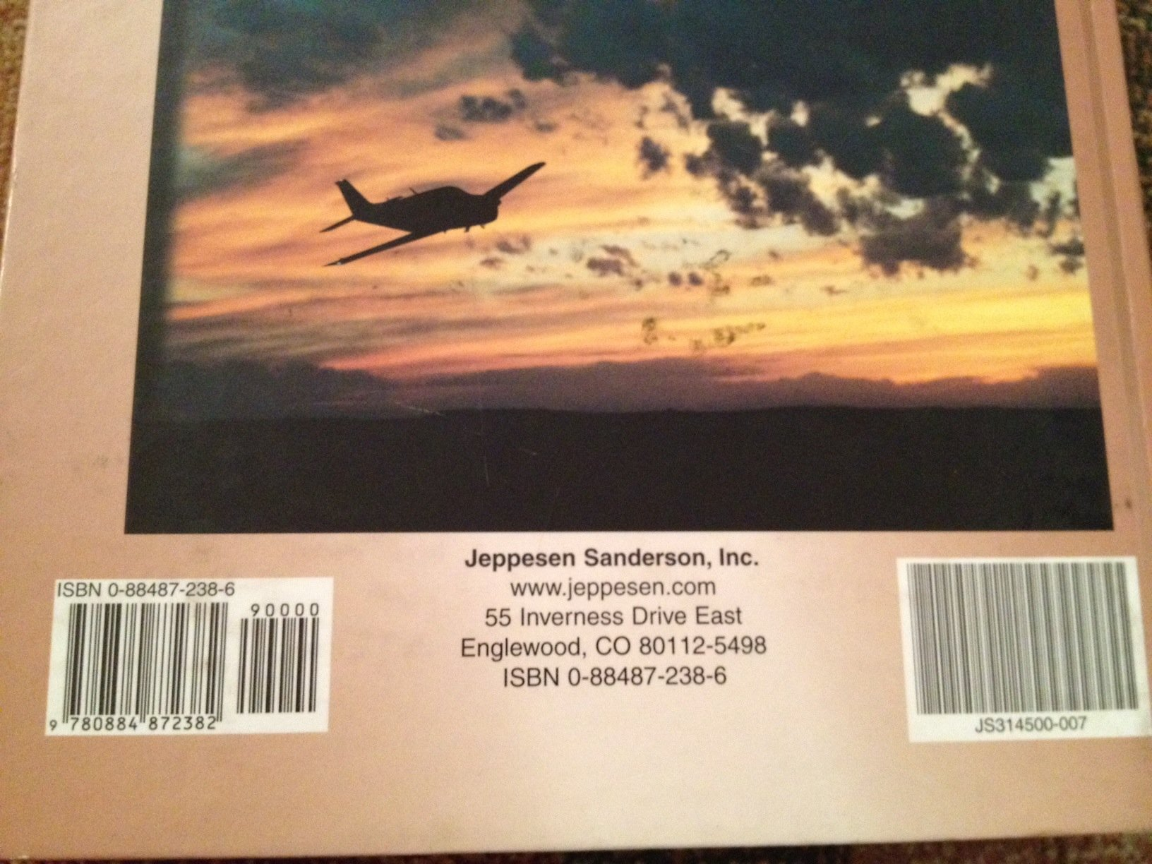 Jeppesen Private Pilot Manual: Jeppeson Sanderson: 9780884872382:  Amazon.com: Books