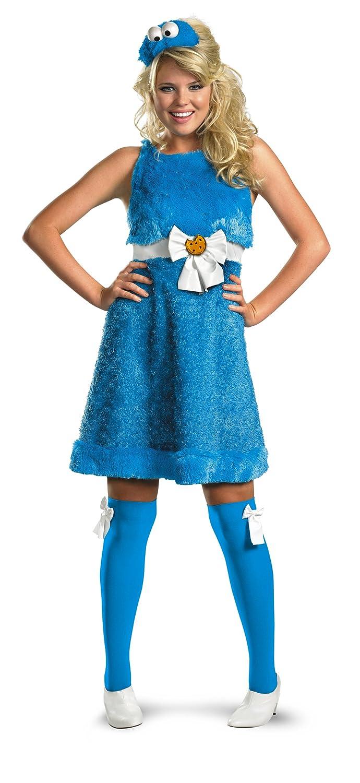 Disfraz DI11476-M para mujer descarada Sesame Street Cookies Tama ...