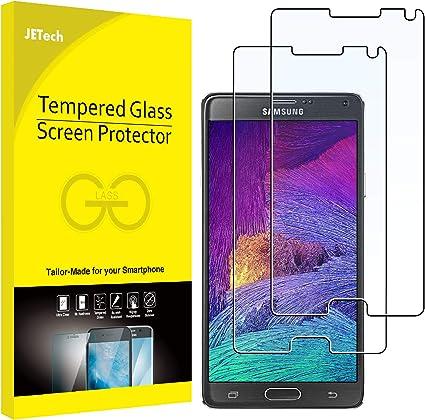 JETech Protector de Pantalla para Samsung Galaxy Note 4, Vidrio Templado, 2 Unidades: Amazon.es: Electrónica