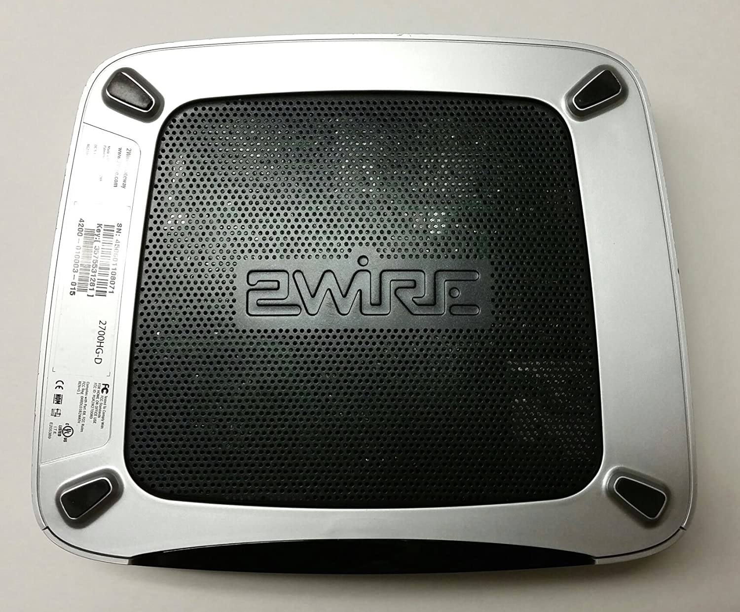 2wire Modem 2700hg D - WIRE Center •