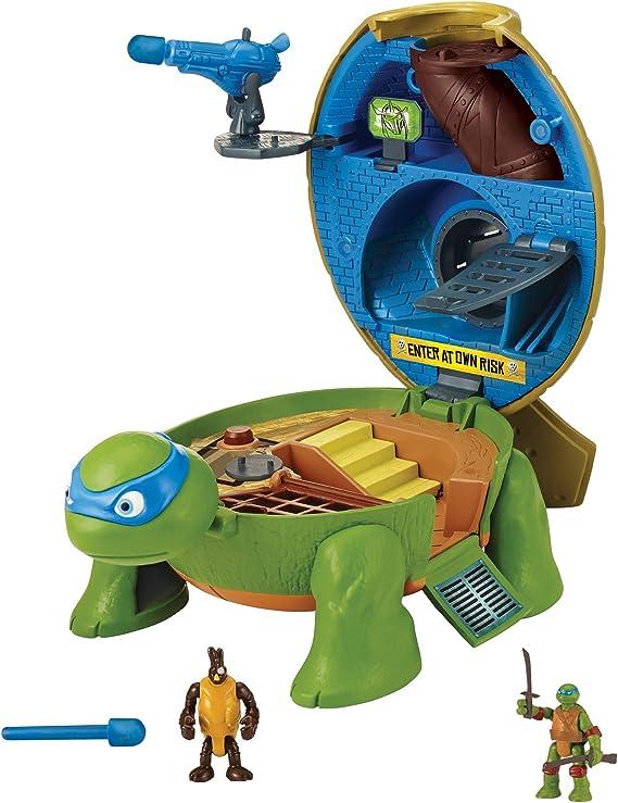 Teenage Mutant Ninja Turtles Micro Mutant Leonardo's Dojo Pet to Turtle Playset