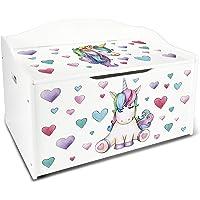 Leomark Caja de Madera Banco Blanco XL
