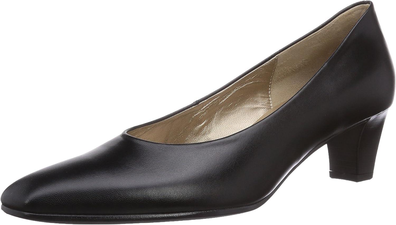 TALLA 36 EU. Gabor Basic, Zapatos de tacón con Punta Cerrada para Mujer