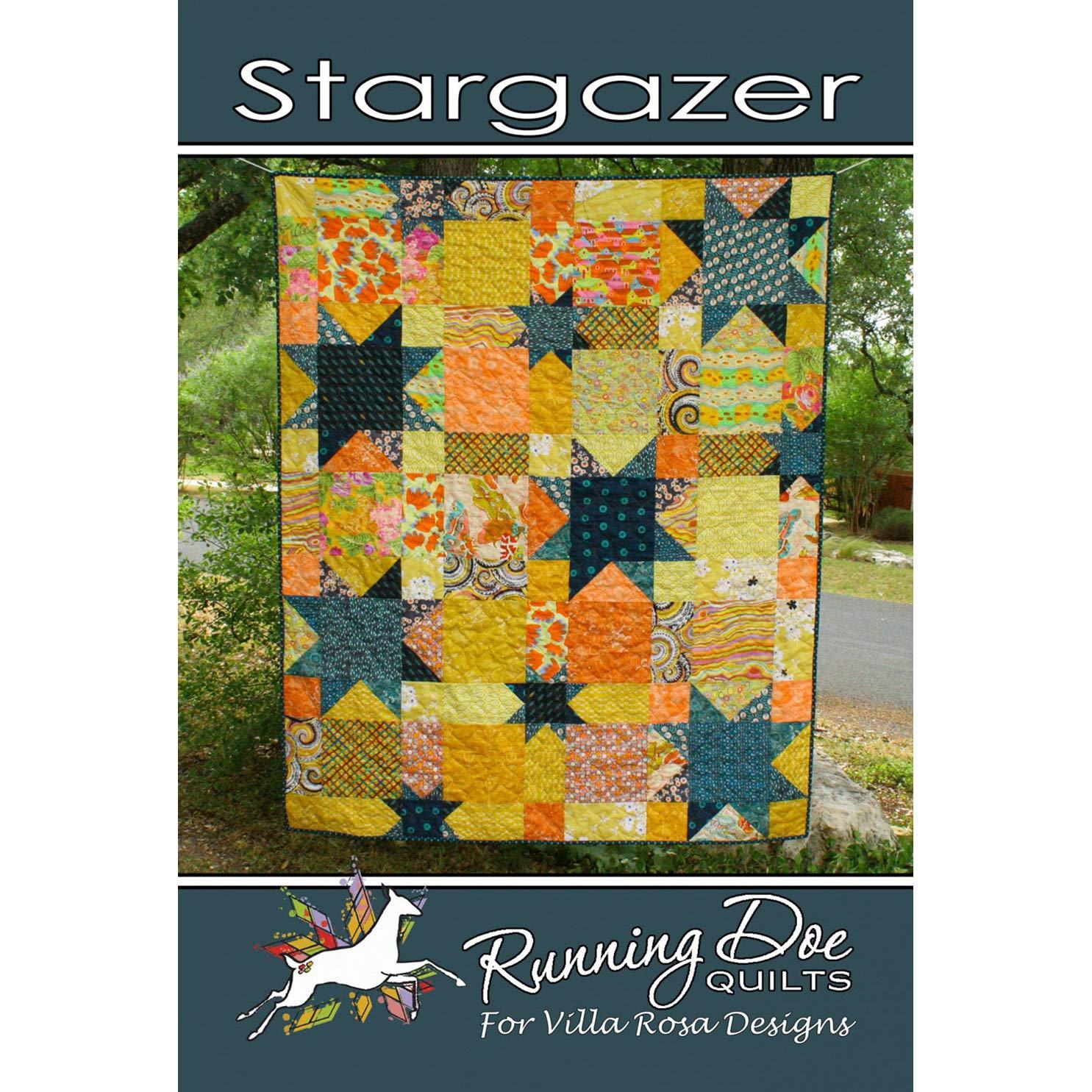 Stargazer Quilt Pattern by Villa Rosa Designs