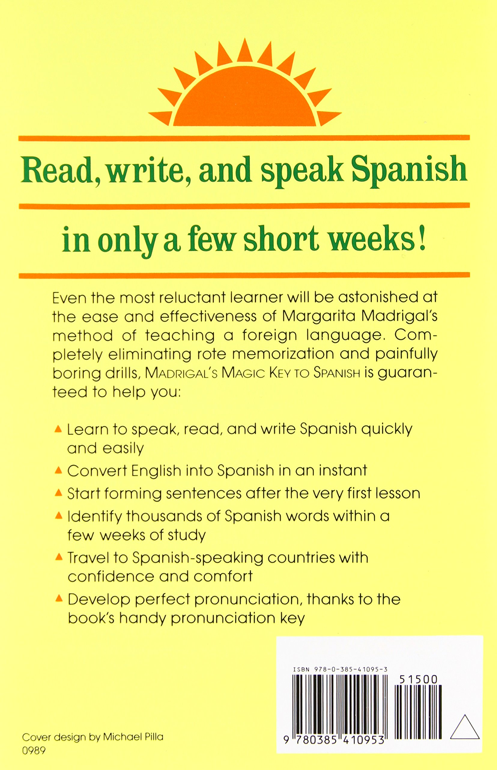 madrigal s magic key to spanish a creative and proven approach