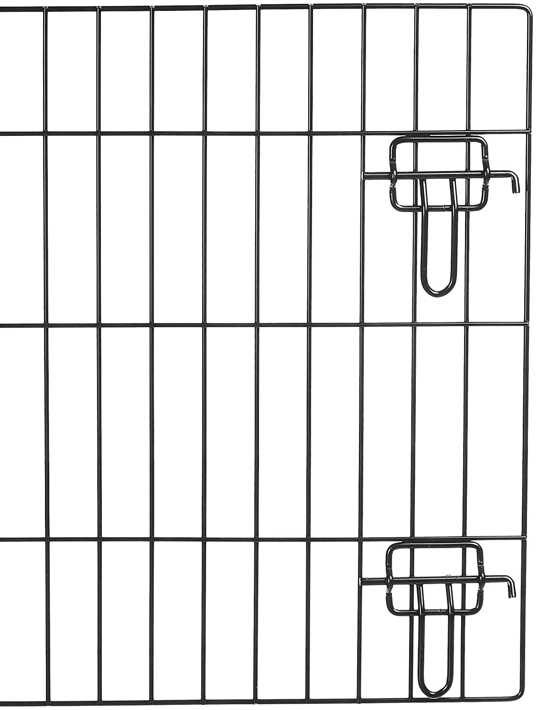 Small Basics Double-Door Folding Metal Dog Crate