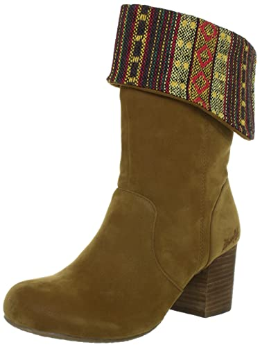 Blowfish Test BF2406 AU12, Damen Boots, Braun (earth fawn PU BF223),