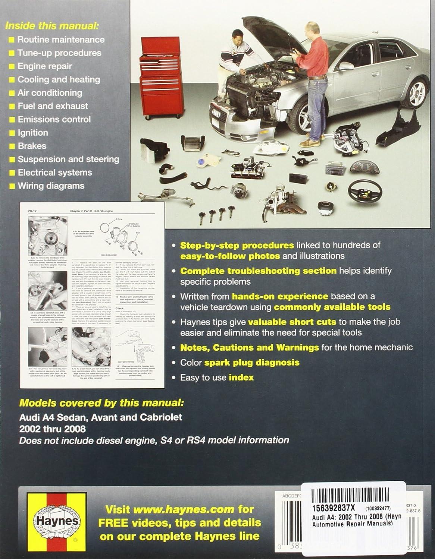 Epson 826 Projectors Owners Manual Amazon.com: Audi A4 2002 Thru 2008:  Haynes Haynes: Automotive