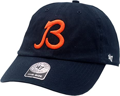 Amazon.com   Chicago Bears B Clean up Buckle Back Hat-11068   Sports ... 702d50ed8578