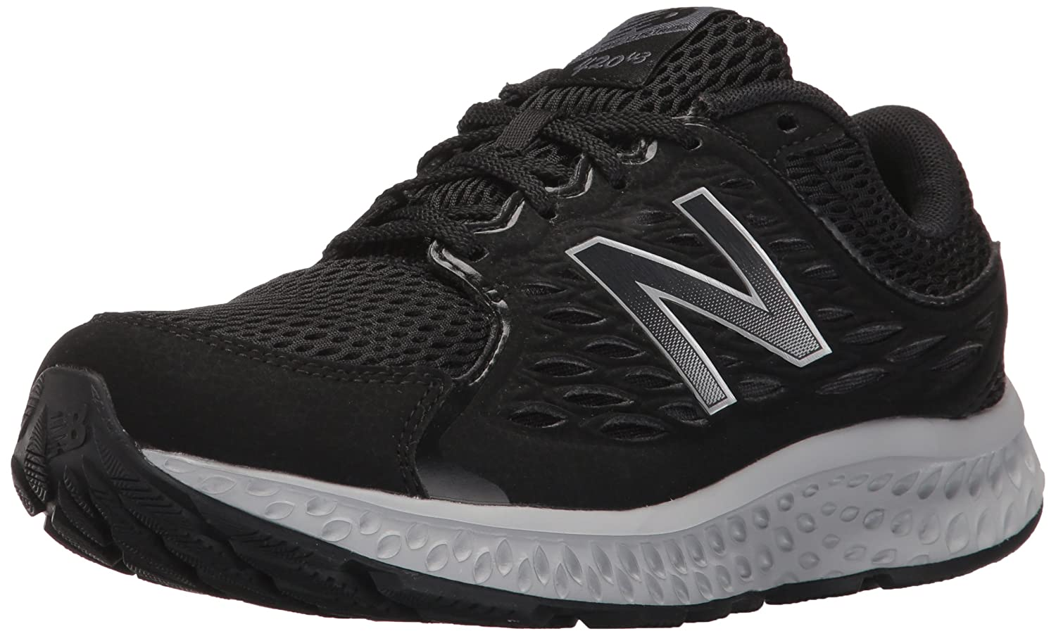 New Balance Women's US|Black/Silver W420v3 Running Shoe B01FSJ98HS 6.5 B(M) US|Black/Silver Women's Mink/Lime Glow 32c511