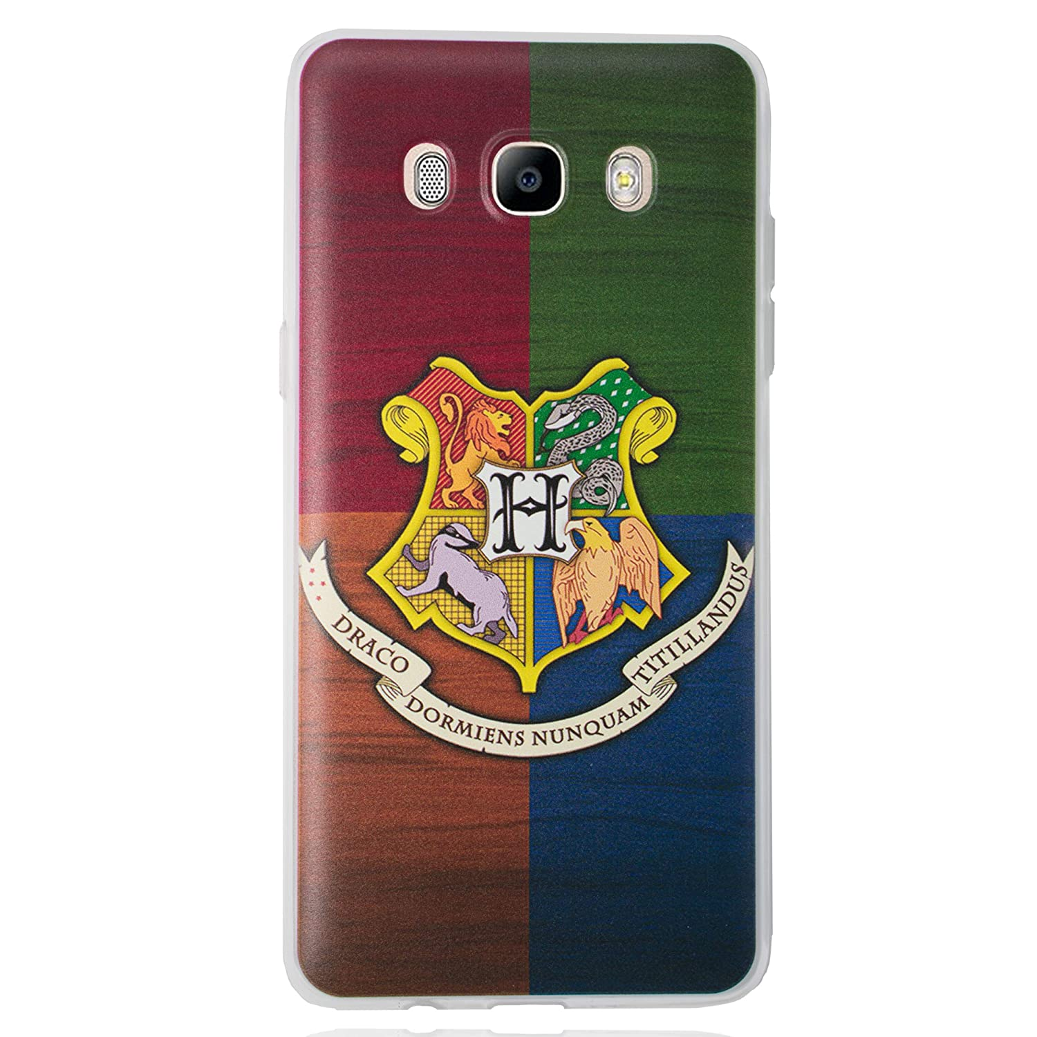 Amazon.com: Galaxy J7 2016 Harry Potter Houses Silicone ...
