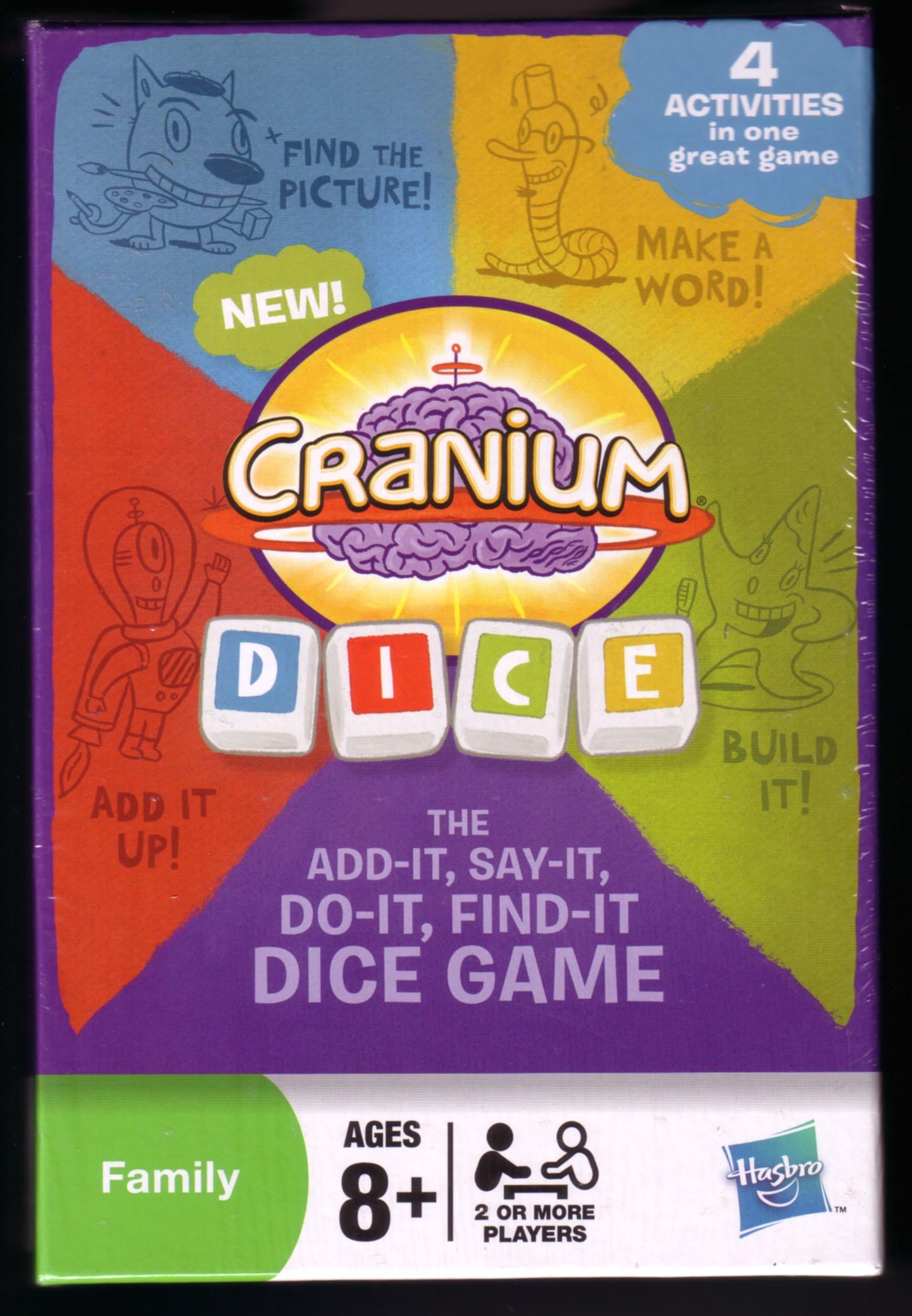 Cranium Dice: The Add-It, Say-It, Do-It, Find-It Dice Game