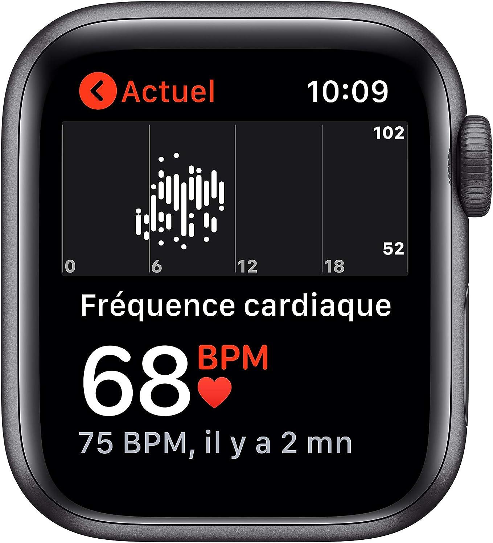 Affichage Apple Watch SE