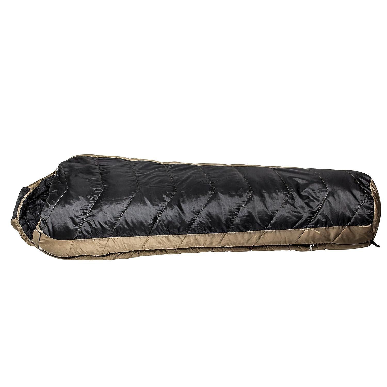 Northstar Tactical Coretech - Saco de Dormir Multicapa, con Bolsa de Almacenamiento de compresión para Acampada, CORETECH-3.5 COY, marrón: Amazon.es: ...