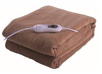 Astan AH-AH52010 - Manta eléctrica (1300 mm, 1800 mm, Poliéster, Terciopelo, EEC, ROHS): Amazon.es: Salud y cuidado personal