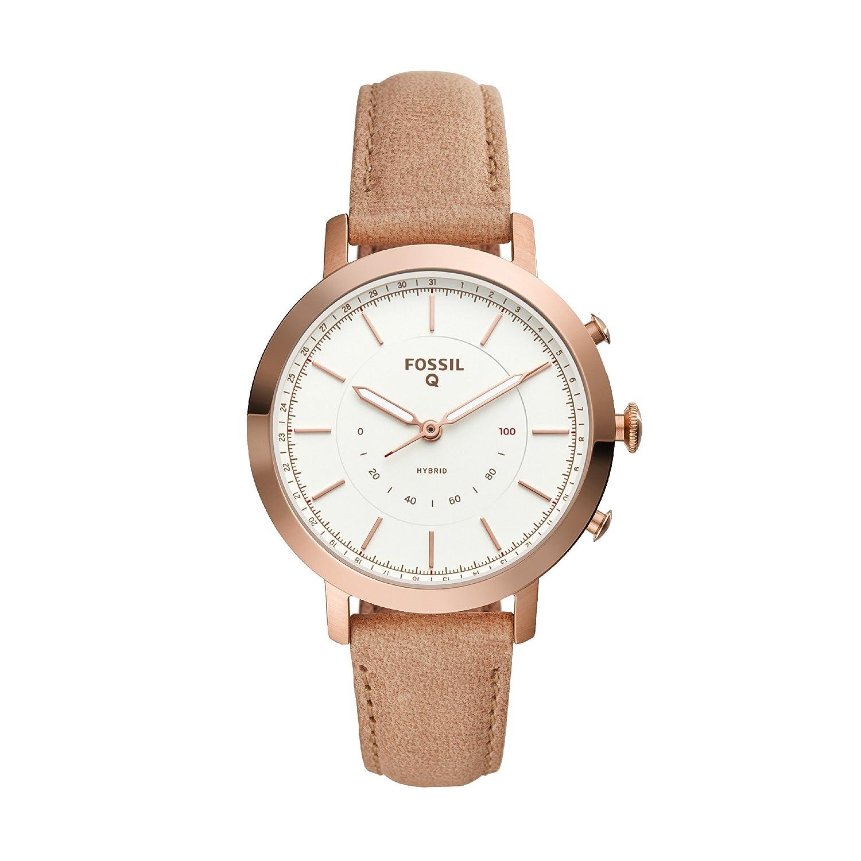456c87482706 Fossil Reloj Analogico para Mujer de Cuarzo con Correa en Cuero FTW5007   Amazon.es  Relojes