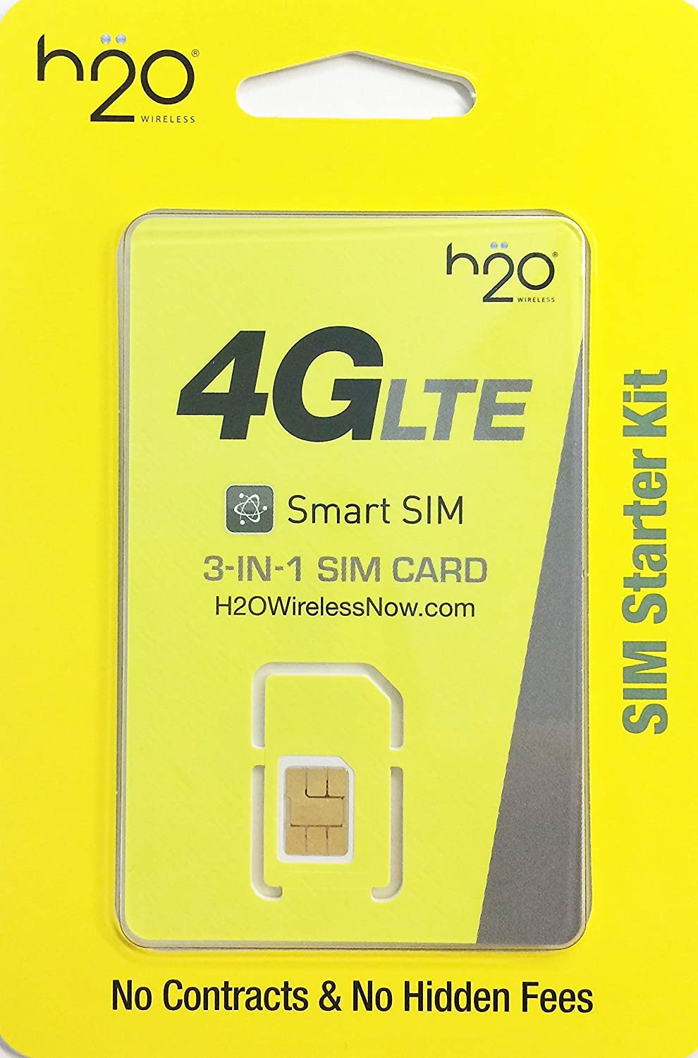 H2O 4G LTE Triple Sim with Tracking Number