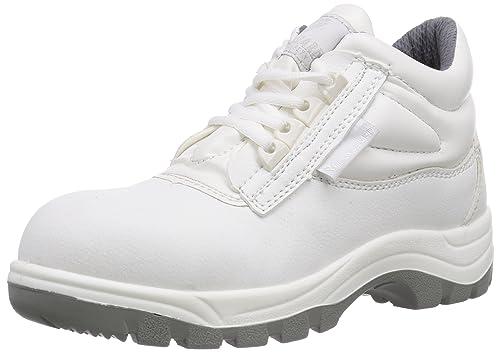 Maxguard W430 - Zapatos de Seguridad Unisex, Color weiß, Talla 36