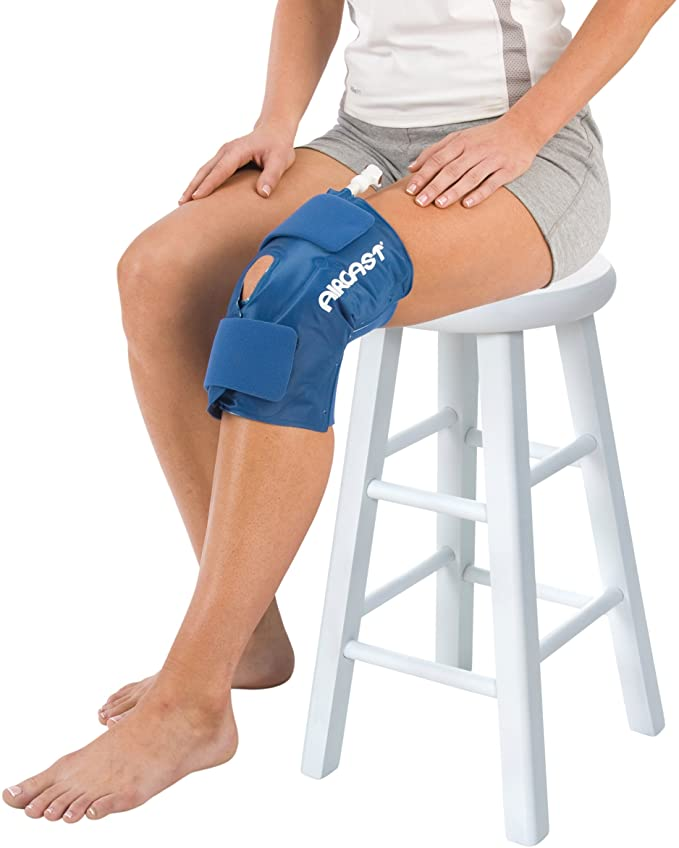 Amazon.com : DonJoy Aircast Cryo/Cuff Cold Therapy: Knee Cryo/Cuff, Large : Sports & Outdoors
