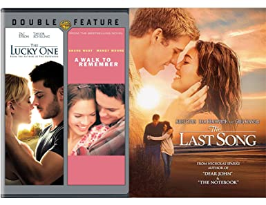 Amazon Com The Last Song The Lucky One A Walk To Remember