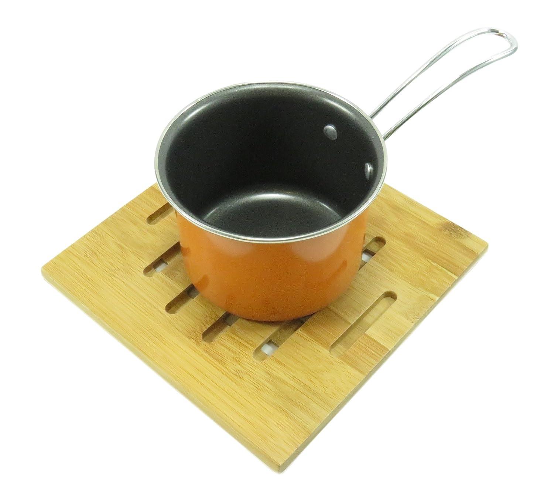 テフロン加工ミルクパンSaucepan 2.25 Cupオレンジ B01M7O8DDE