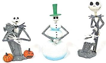 NECA Pesadilla Antes de Navidad: Jack (Set 3 Mini-Figuras): Amazon.es: Juguetes y juegos