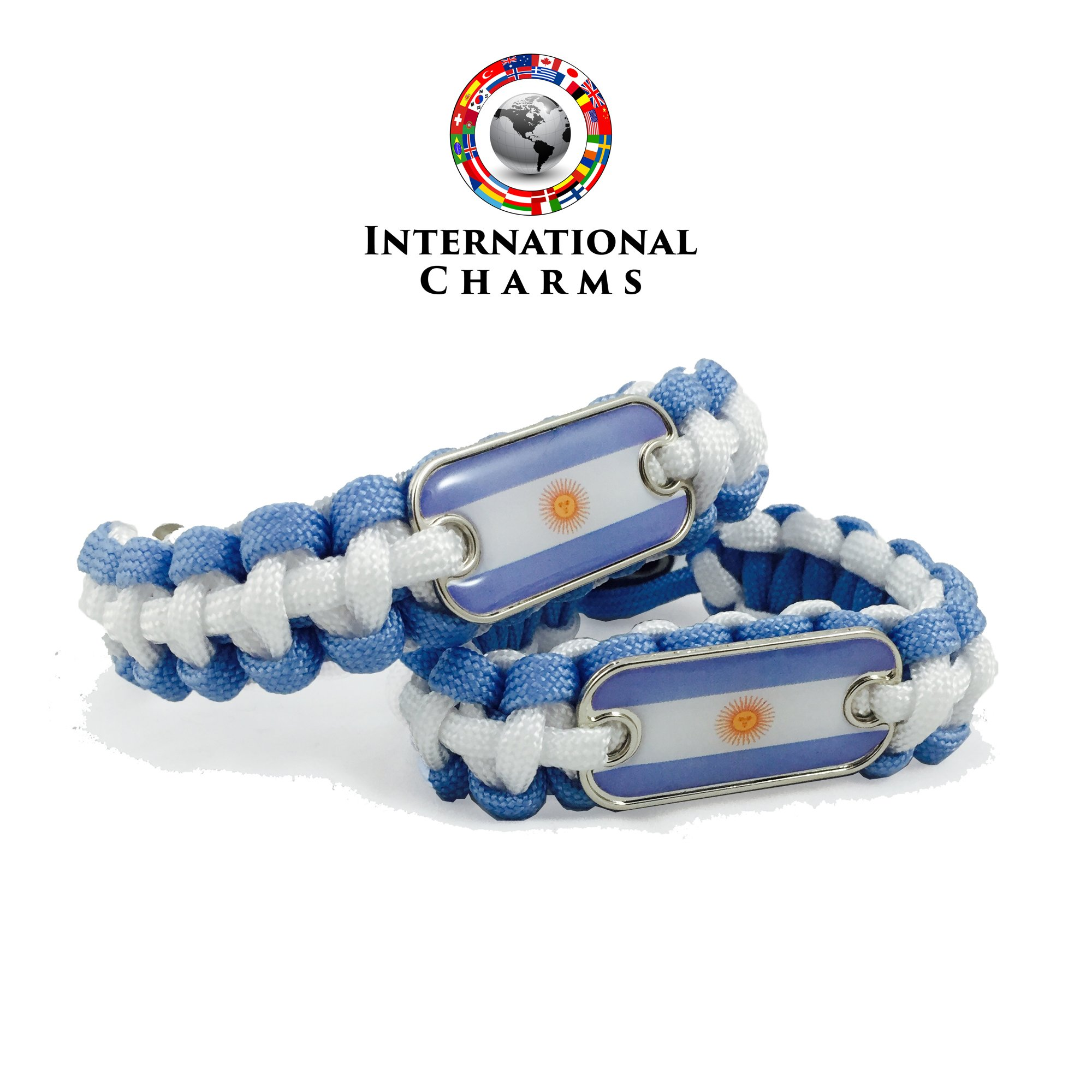 International Charms Bracelet 2016 Olympic Edition Argentina Paracord Bracele.. 14