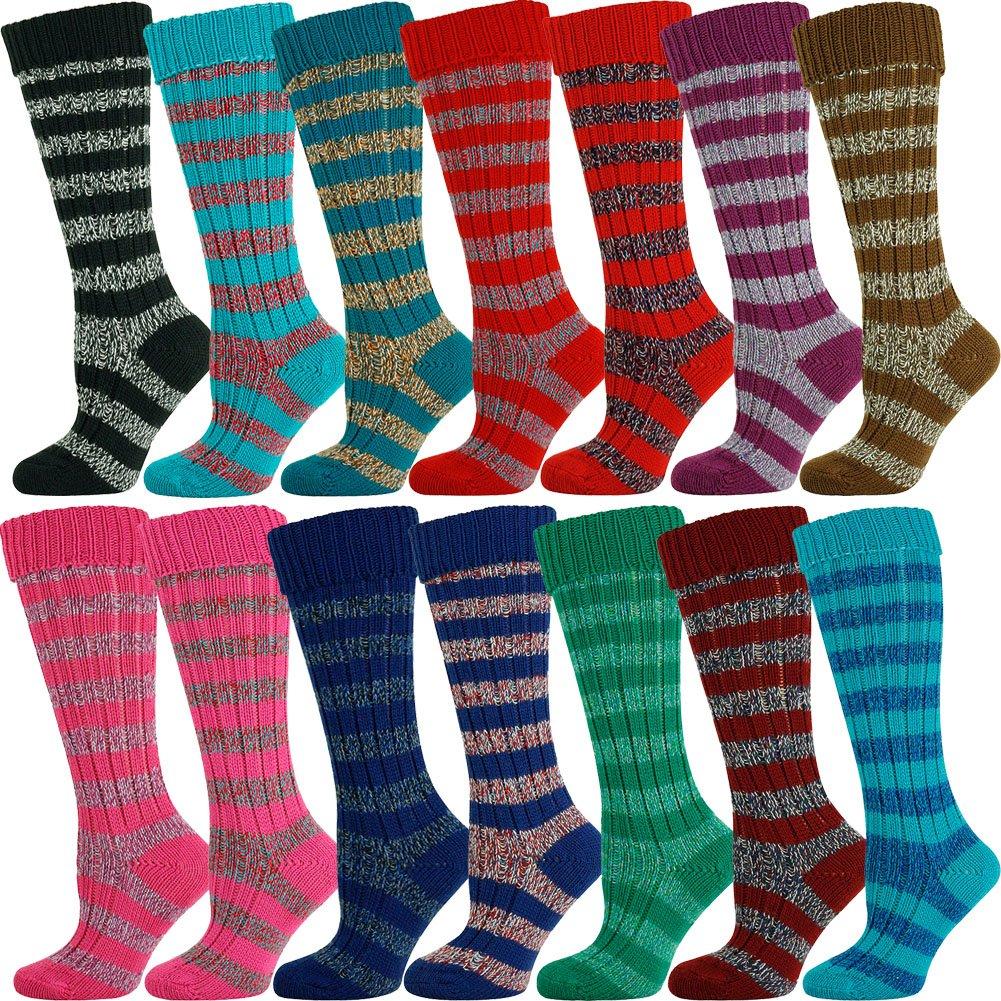 Mysocks Wool Stripe Long Socks Bulk by MySocks