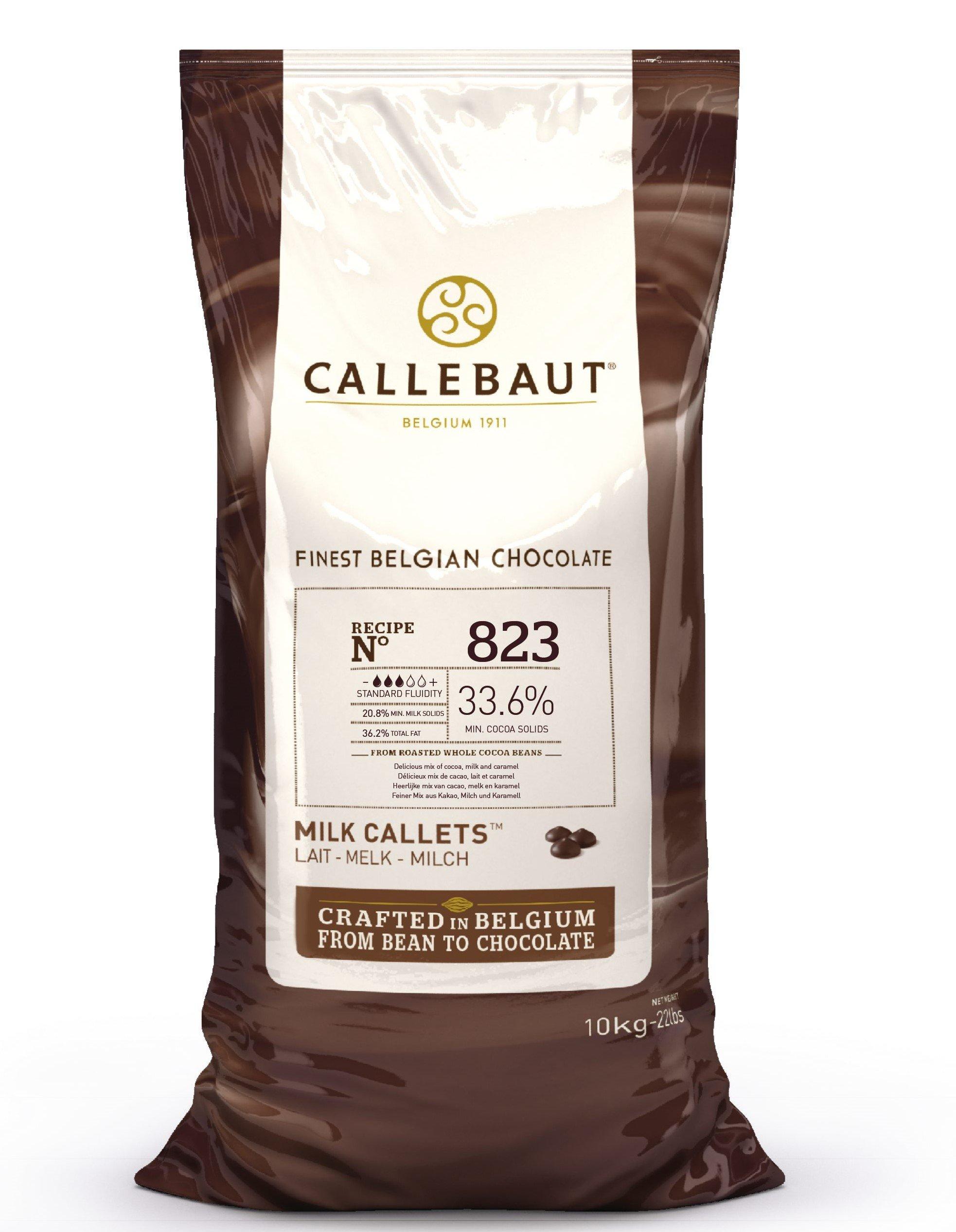 Callebaut milk chocolate chips (callets) 10kg