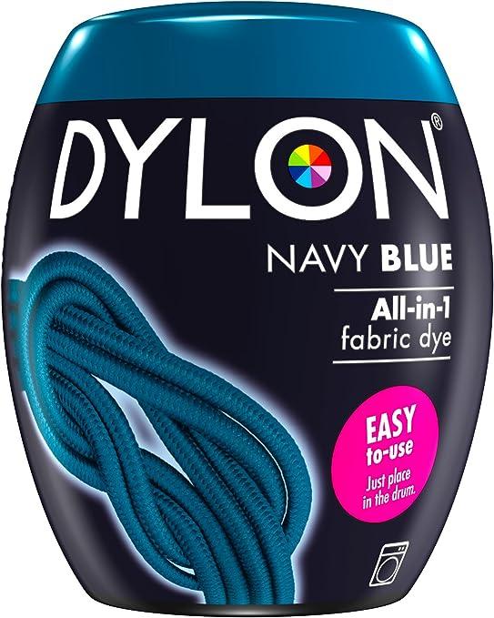 Navy Blue 350g DYLON Machine Dye Pod